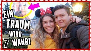 Wir fahren zum ERSTEN MAL ins DISNEYLAND!!! - Vlogmas 7