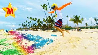 Super Fun Parasailing in Punta Cana Cool Children Compilation Video