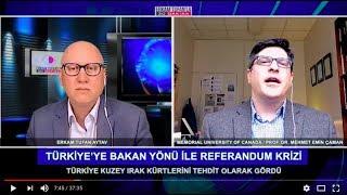 Erkam Tufan'la 30 Dakika Konuk Prof. Dr. Mehmet Efe Çaman- Memorial University of Canada