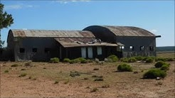 Abandoned Grand Canyon Airport  and Farm on NF 305, Tusayan AZ