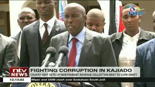 Kajiado County government sets up independent revenue collection body  to curb graft