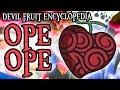 The Ope Ope no Mi (Op-Op Fruit)   Devil Fruit Encyclopedia
