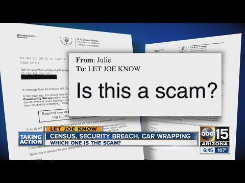 How to spot scam emails, letters