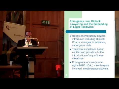 Professor Kieran McEvoy - Lawyers in Northern Ireland