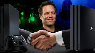 Phil Spencer Announces Sony And Microsoft Strategic Partnership | Bringing Games to more Platforms