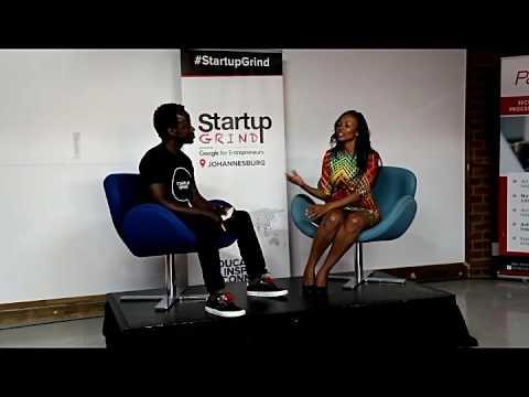 Matsi Modise (SIMODISA) at Startup Grind Johannesburg