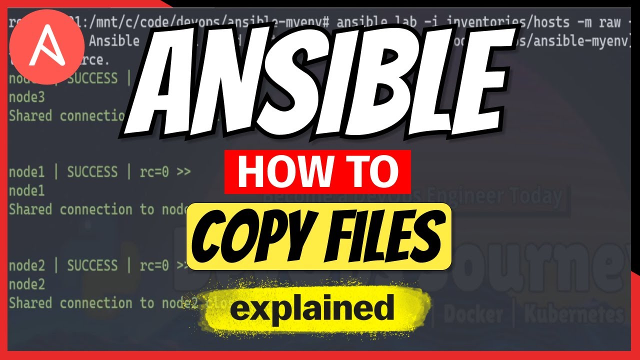 How to Copy Files using Ansible