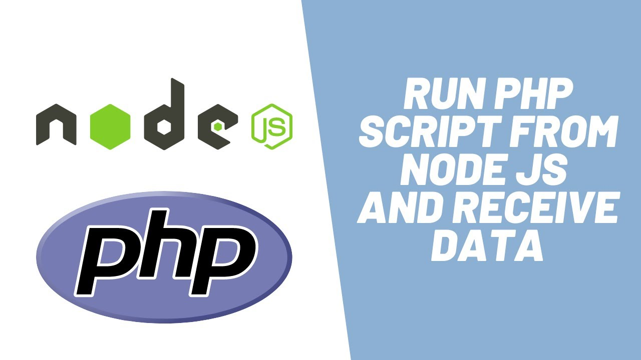 How to Run PHP Script from Node JS and Receive Data