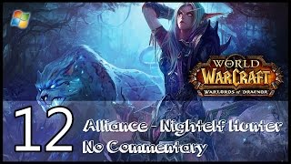 World of Warcraft : Warlords of Draenor【PC】 - Part 12 「Alliance │ Nightelf Hunter │ No Commentary」