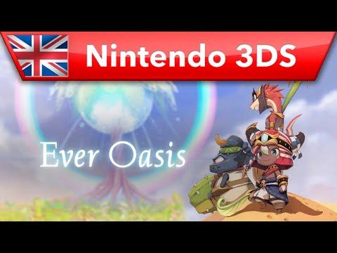 Ever Oasis - E3 2016 Trailer (Nintendo 3DS)