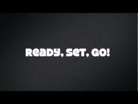 Roscoe Dash - Ready, Set, Go Lyrics (Official Lyric Video)