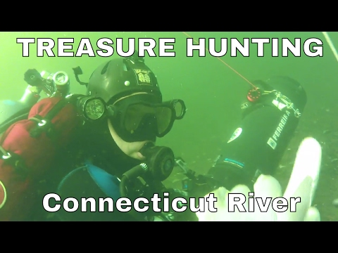 Scuba Diving on the Connecticut River and Treasure Hunting