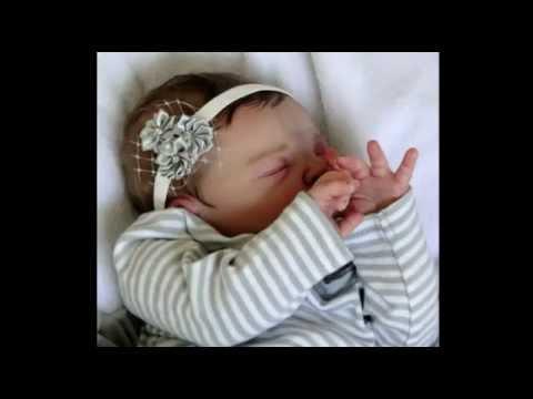 Reborn Baby Doll Sienna Opening Box Youtube