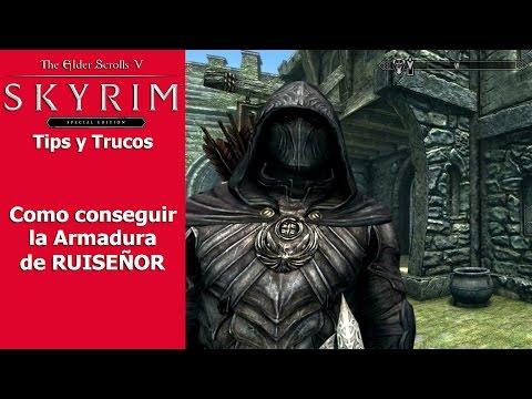Skyrim Special Edition   Tips y Trucos   Como conseguir la Armadura de Ruiseñor