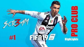 Scr3am Twitch Highlights 3 10 2018 Fifa 19 Pro Club PS4 By 3