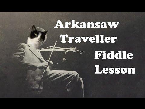 Arkansas Traveller - Basic Fiddle Lesson