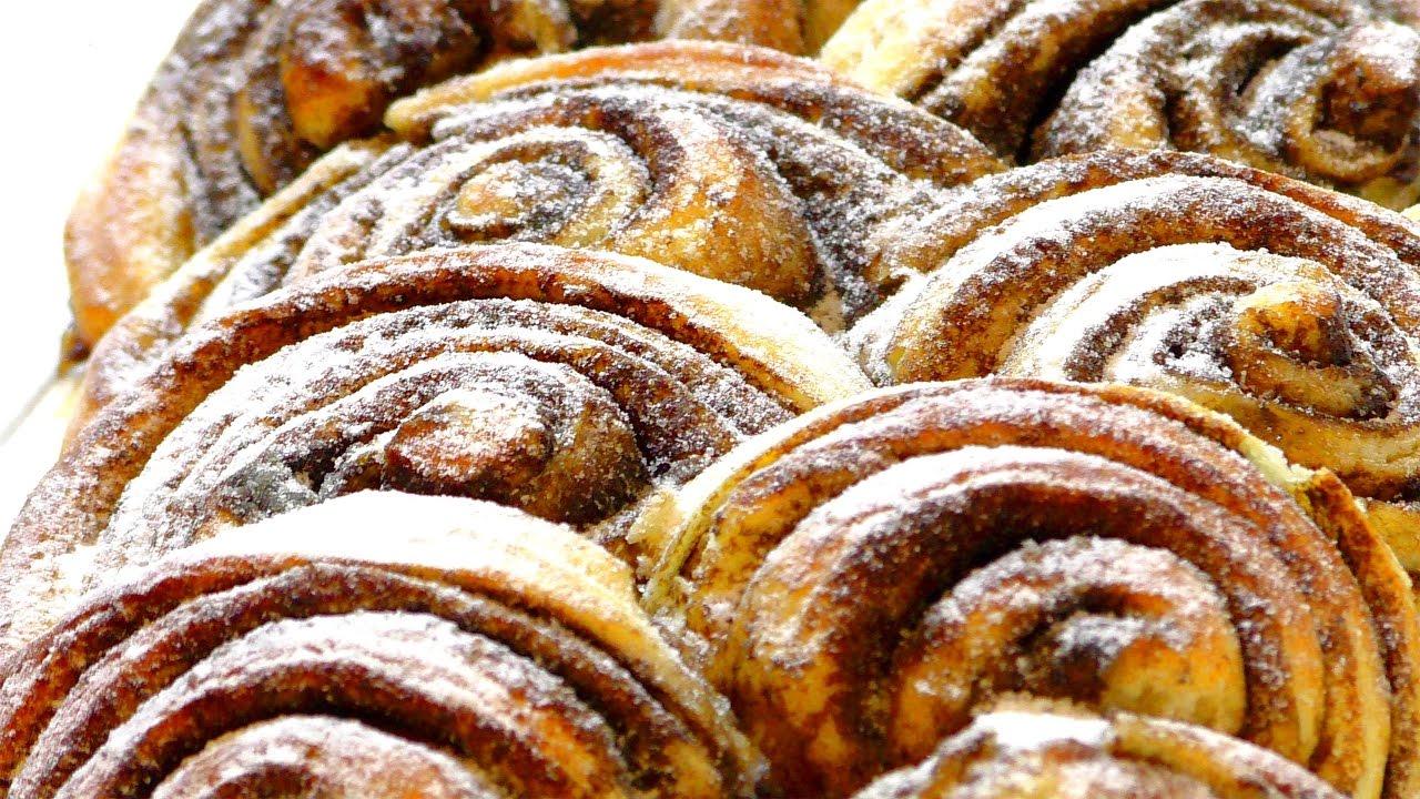простые БУЛОЧКИ С КОРИЦЕЙ. simple cinnamon rolls.