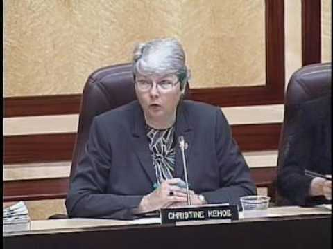 Senate Appropriations Committee Part 1 5/26/2009