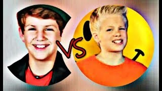 "MattyBRaps ""Talk Dirty"" VS Carson Lueders ""Happy"""