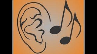 Ear training - intervals identification level 1