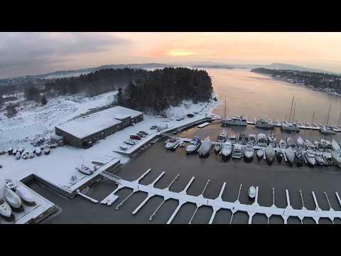 Winter at the marina - Oksenøya, Norway. P2V+ v3