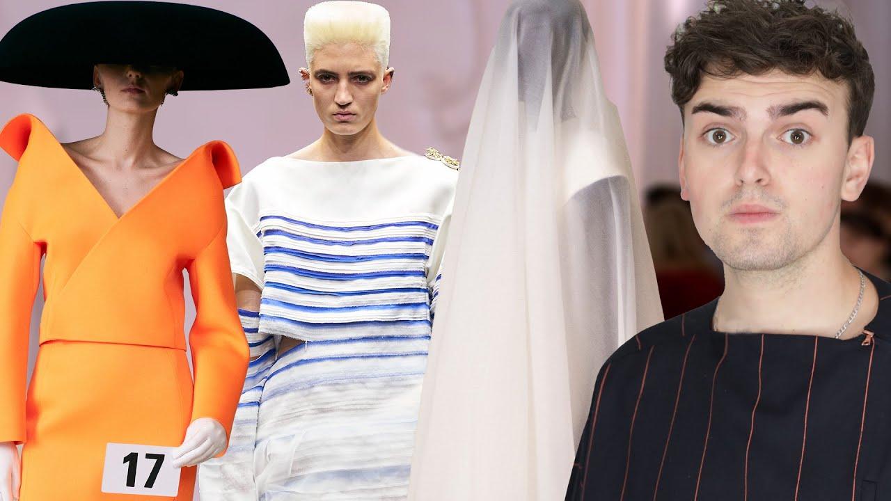 Fall 2021 Haute Couture ROAST (Balenciaga & Jean Paul Gaultier)