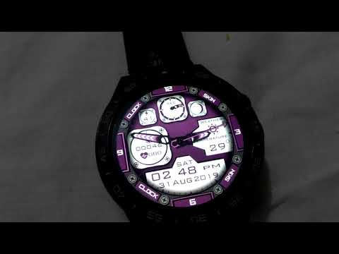 LOKMAT X360 watch faces, clock skin full android watch.