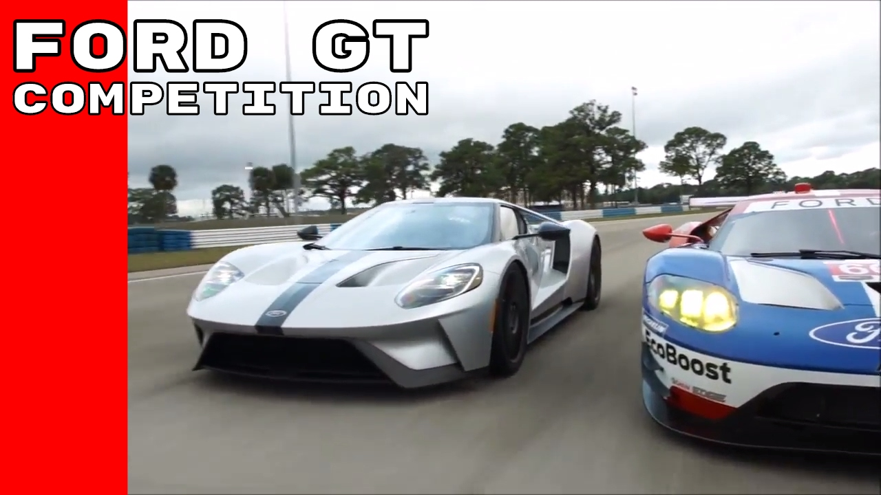 Ford Gt Competition Series Meets Race Car Youtube