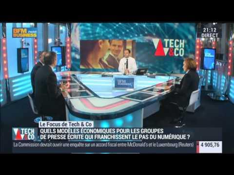 Tech&Co - Quel est le meilleur business model pour la presse en ligne en France ?