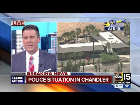 LIVE: Chandler Police Working Police Situation - 54th Street / Galveston