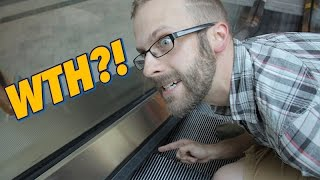 What The Heck Is That?! - Escalator Brush Thingies