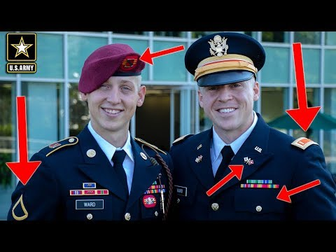 Army Enlisted Vs Officer Uniforms | What's The Difference?!