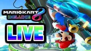 Mario Kart 8 Deluxe Live With Sunny K
