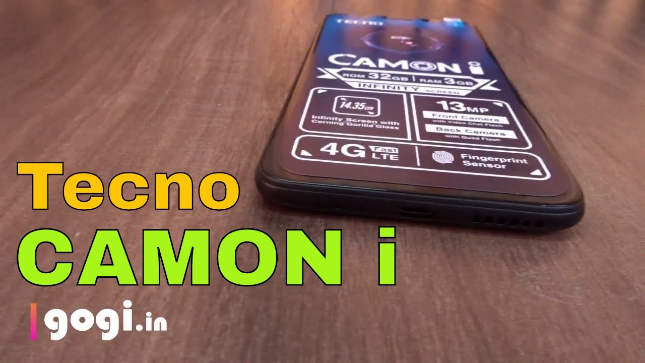Tecno Camon i unboxing and first impression