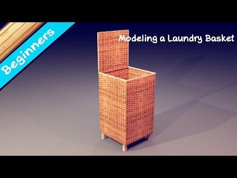 Making a Laundry basket