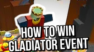 HOW TO WIN GLADIATOR EVENT - Tower Defense Simulator [Roblox]