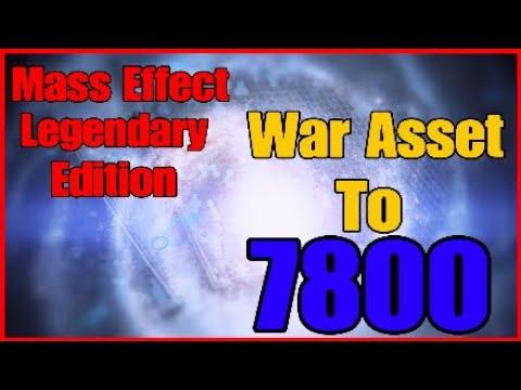 Mass Effect legendary edition: War assets to 7800 |