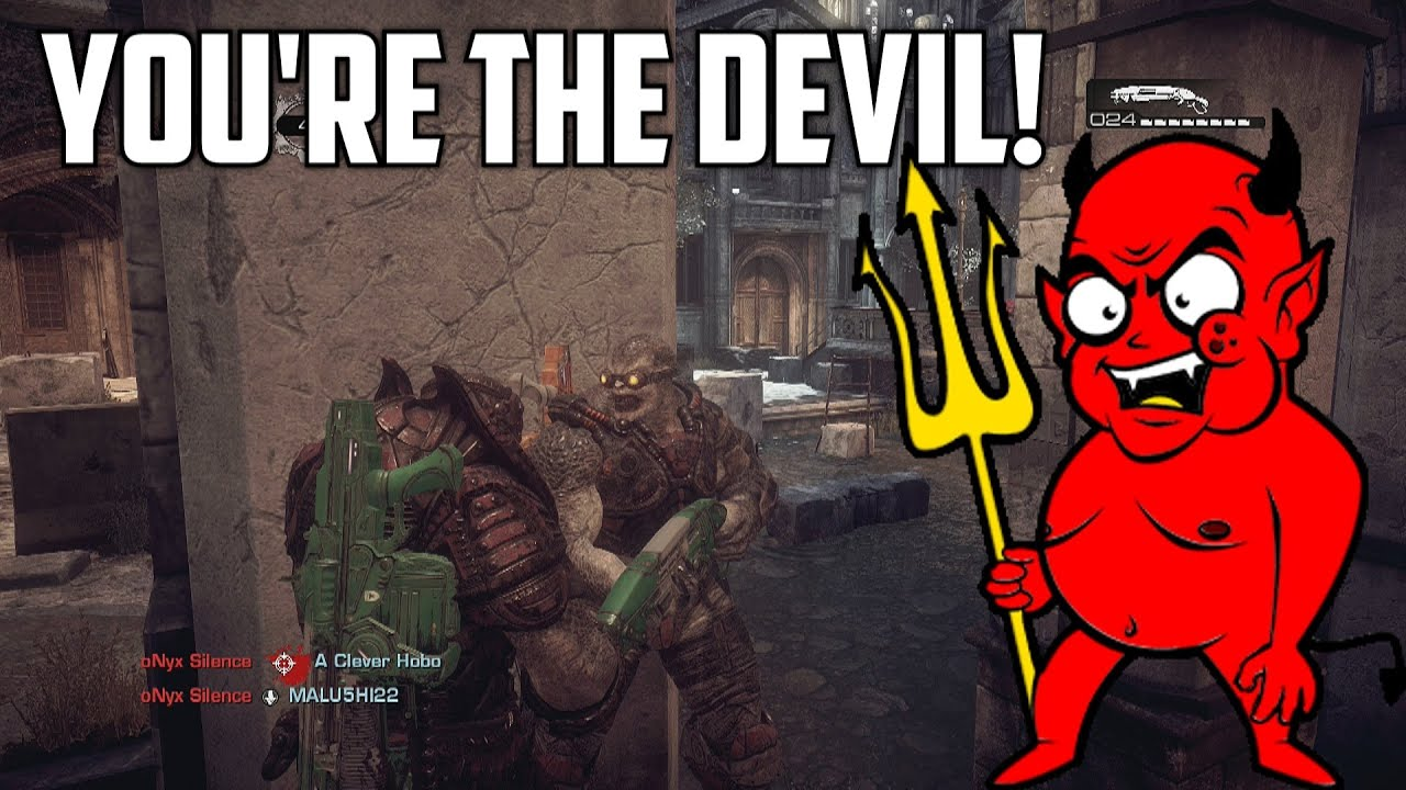 YOU'RE THE DEVIL! (Gears of War: Ultimate Trolling) - YouTube