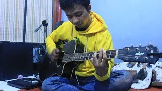 (Ratih Purwasih) Antara Benci dan Rindu | Yank Hujan Turun Lagi @Fingerstyle Gitar