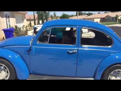 16 Year Old Surprised With Her Dream Car (1967 Volkswagen Bug)