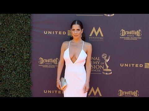 Kelly Monaco 2017 Daytime Emmy Awards Red Carpet