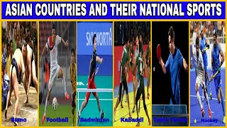 Asian Countries And Their National Sports A S Topic