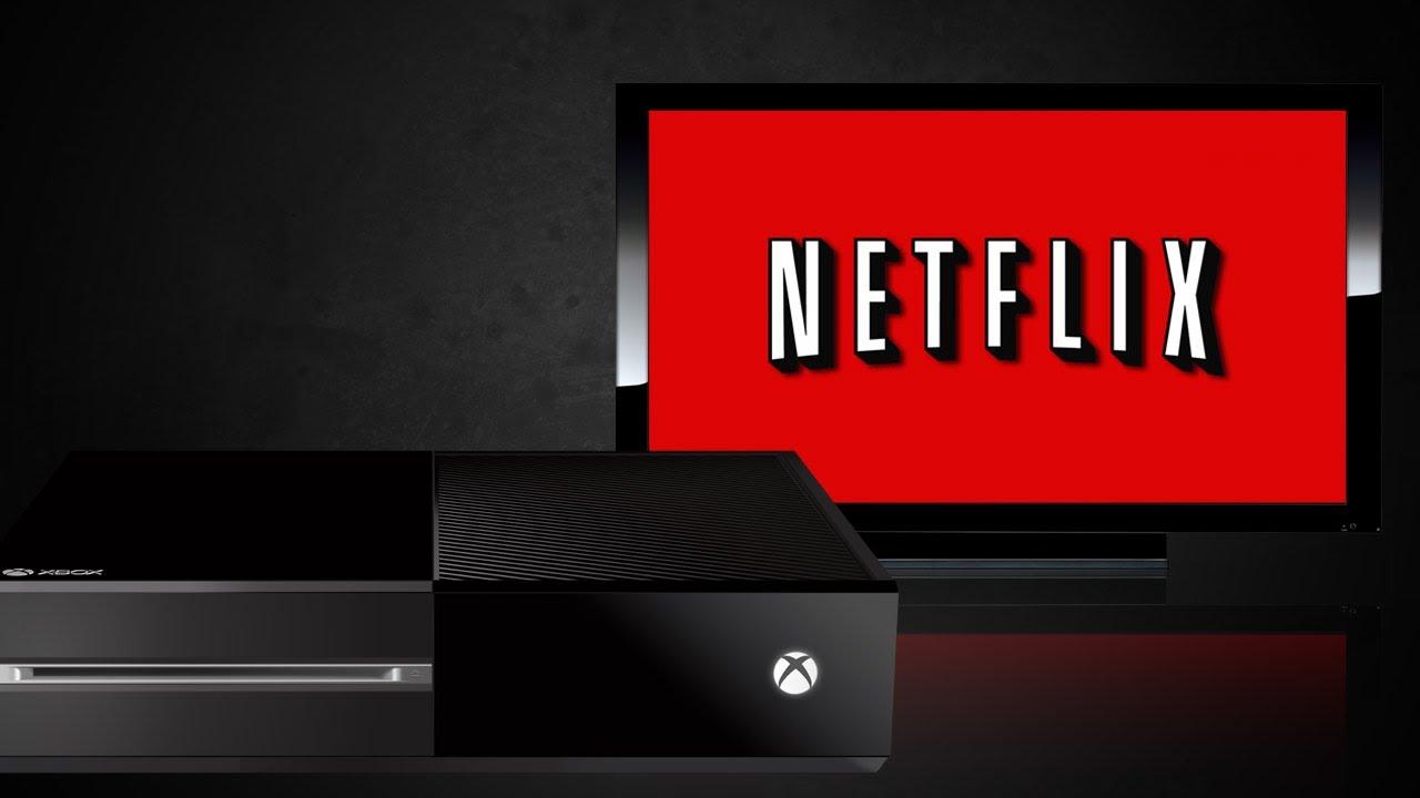 Netflix op Xbox One interface
