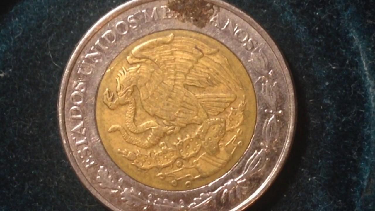 1 Nuevo Peso Mexico Coin Dated 1999