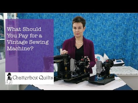 What Should You Pay for a Vintage Sewing Machine?