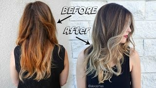 Fall Sombre Hair Color ft. NEW Redken Shades Eq 09P(OPEN FOR MORE INFORMATION! http://www.alexsismae.com/2015/10/fallsombre.html Color Formula Base: Schwarzkopf Igora 5-00 + 6-00 + 5-4 (Equal Parts) ..., 2015-10-14T16:00:01.000Z)