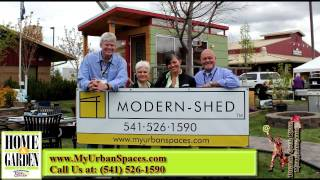 Urban Spaces & Modern-shed Bend Or | Central Oregon Home Show