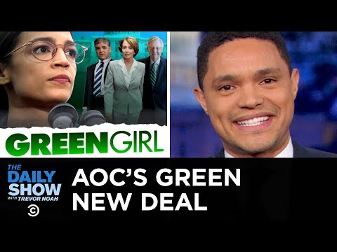 Conservatives Slam Alexandria Ocasio-Cortez's Green New De