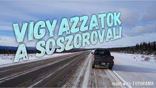 Vigyazzatok az sószóró autóval és a friss sózással!!!