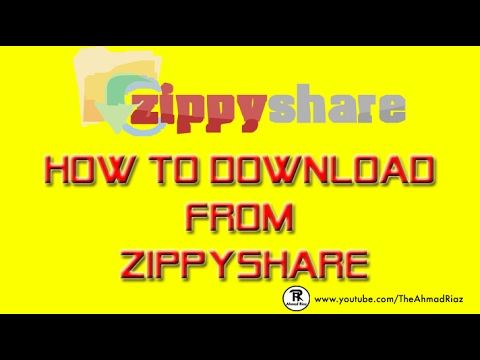 How To Download From Zippyshare Youtube